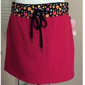 """NEW Julius & Friends Red """"Church Lady"""" Heart Skirt"""